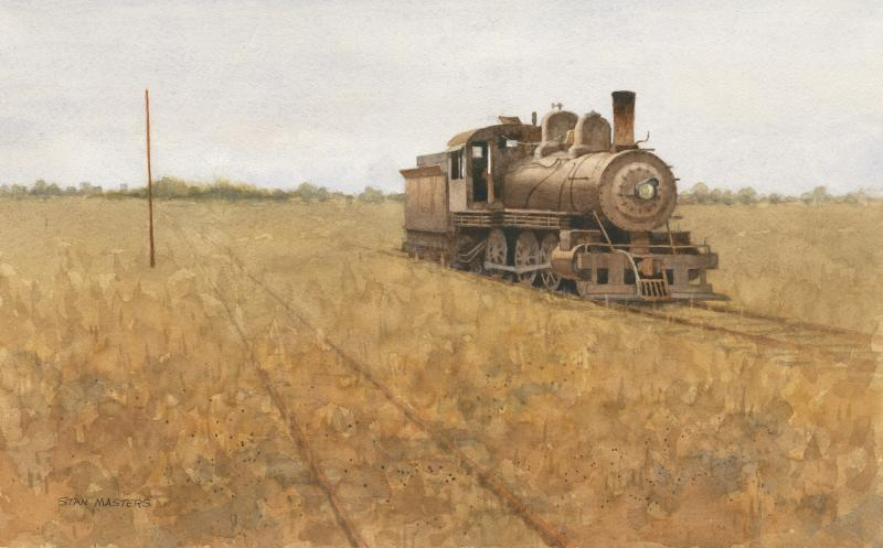Stan Masters Old Loco