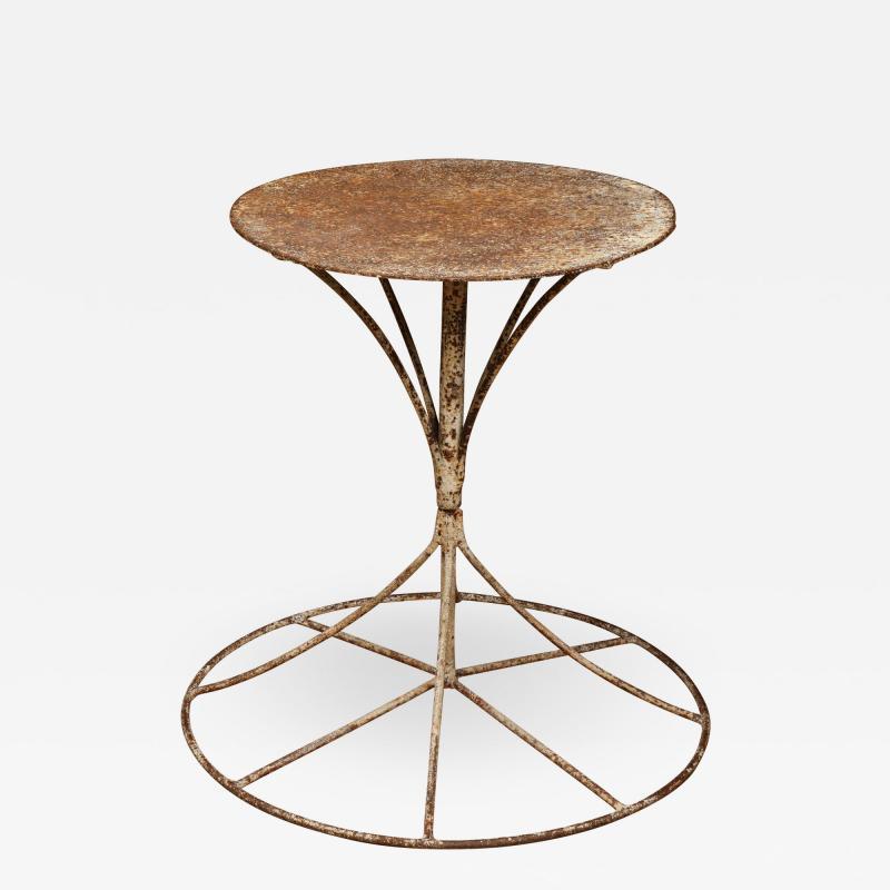 Steel Garden Table