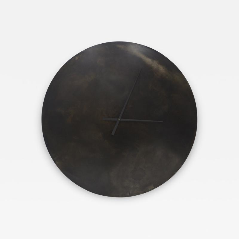 Stefan Rurak Studio Steel Wall Clock