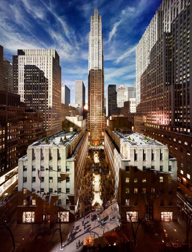 Stephen Wilkes Rockefeller Center NYC 2013