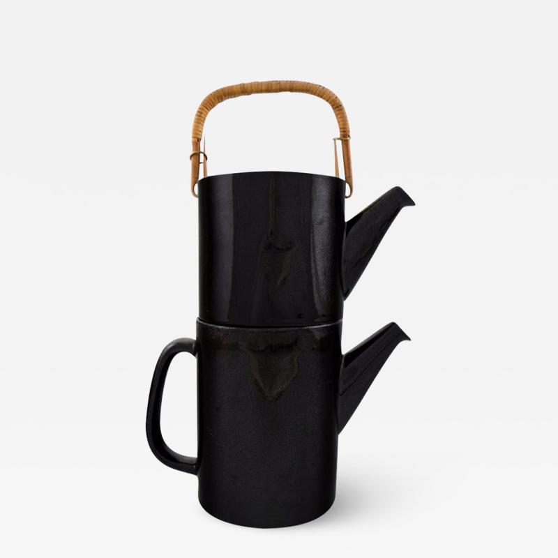 Stig Lindberg Rare 2 piece teapot LA Colorado design Stig Lindberg Gustavsberg Stamped
