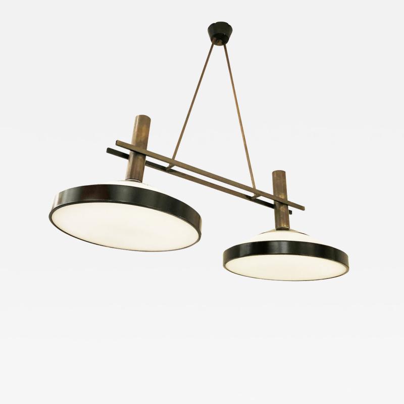 Stilux Ceiling Light Italy 1960s