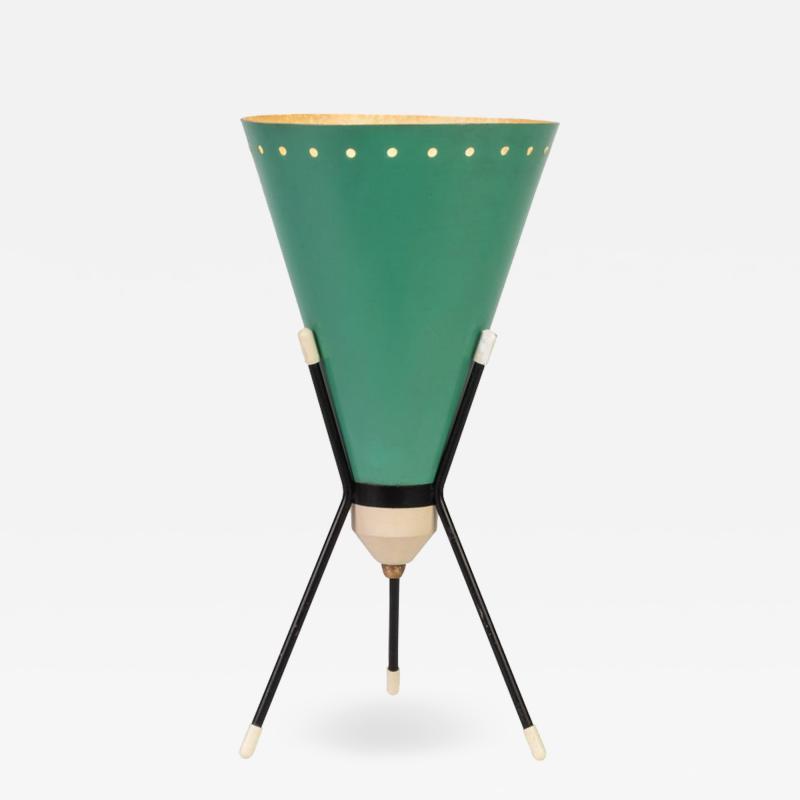 Stilux Milano 1950s Stilux Milano Vice Versa Tripod Table Lamp