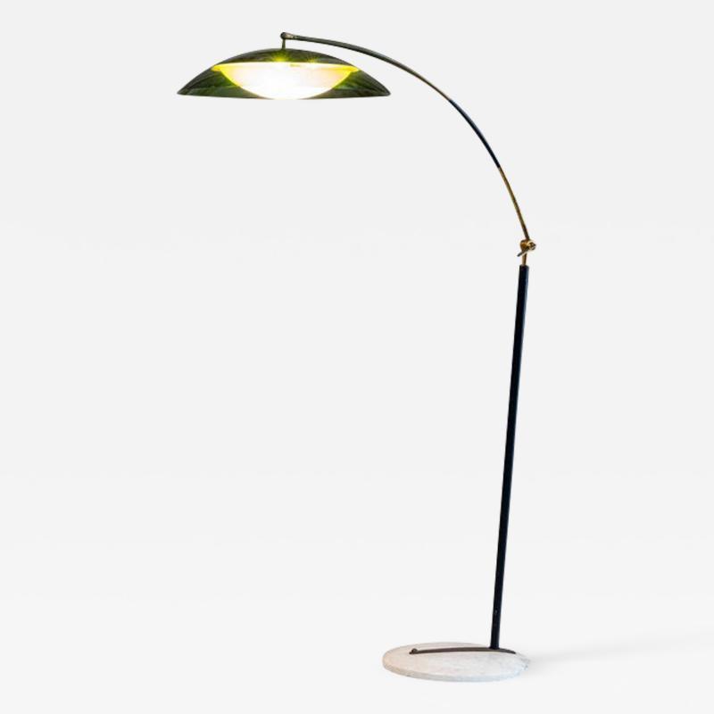 Stilux Milano Midcentury Italian Floor Lamp Attributed to Stilux