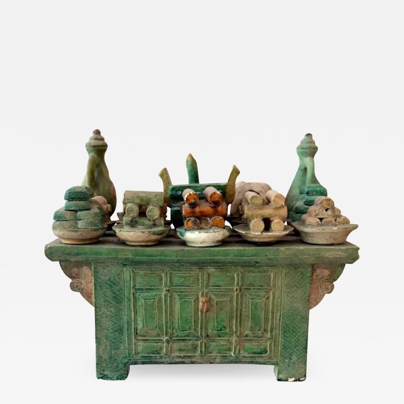 Stoneware Tomb Altar Model Ming Dynasty