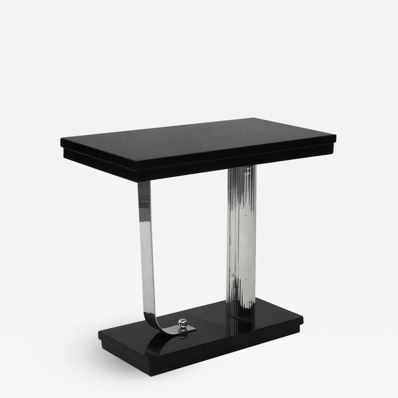 Streamline Art Deco Side Table