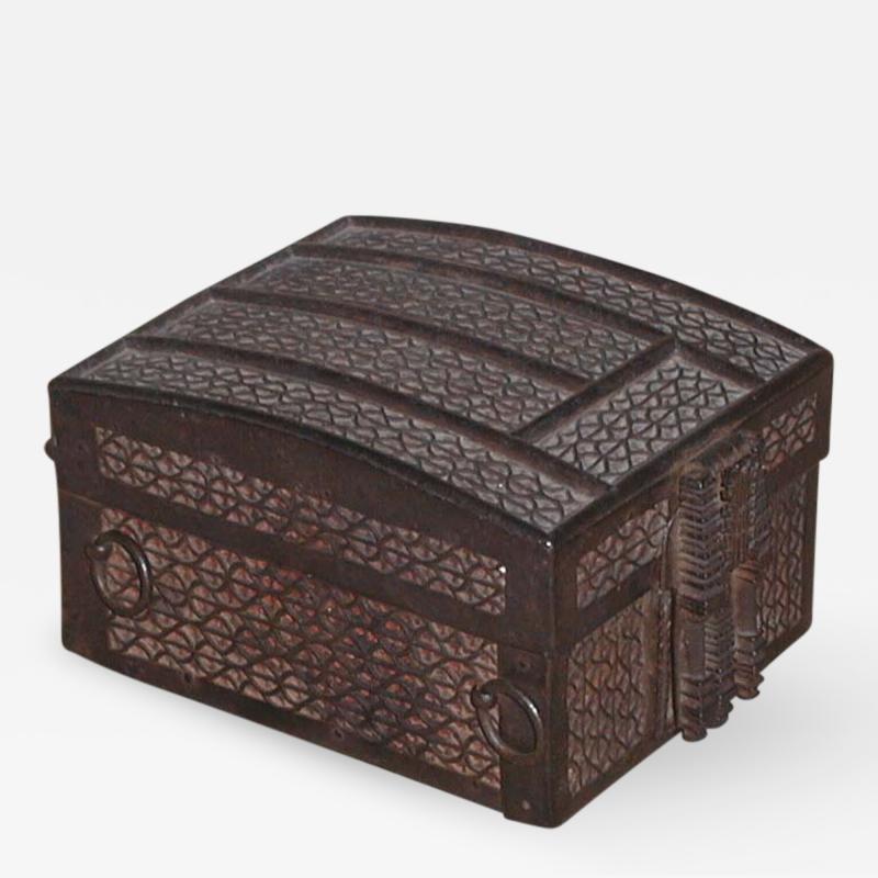 Strong Box missal casket Iron over Iron on an Oak Core