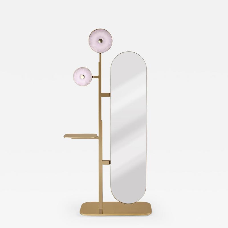 Studio MVW JinShi Pink Jade Mirror