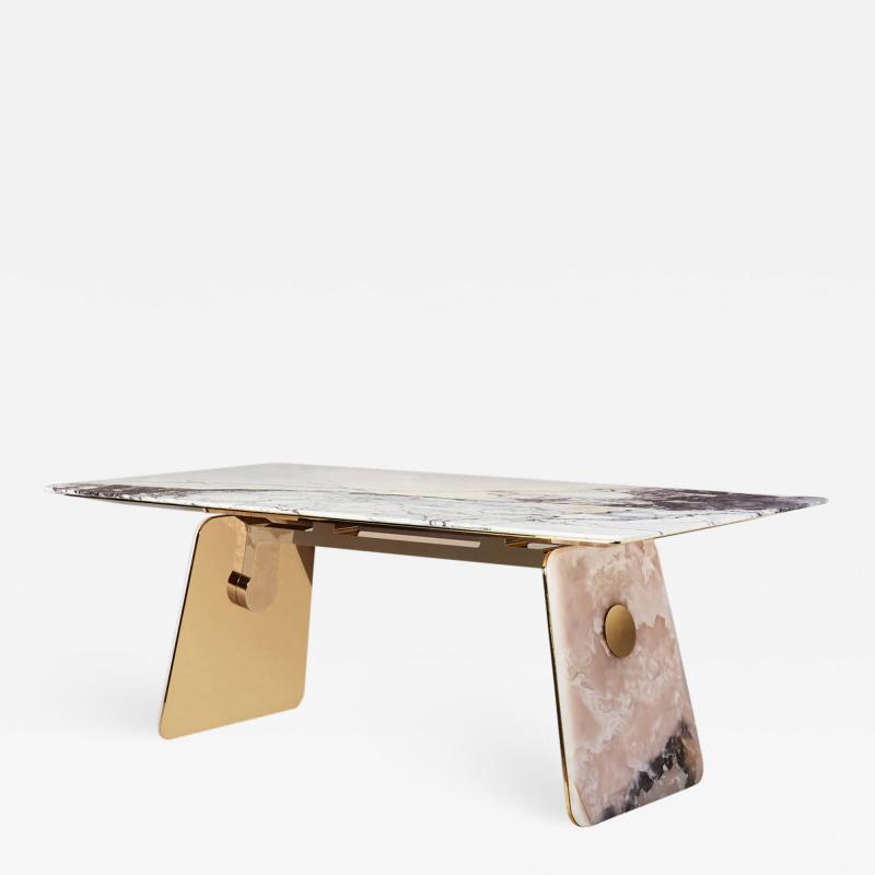 Studio MVW JinShi Pink Jade Table