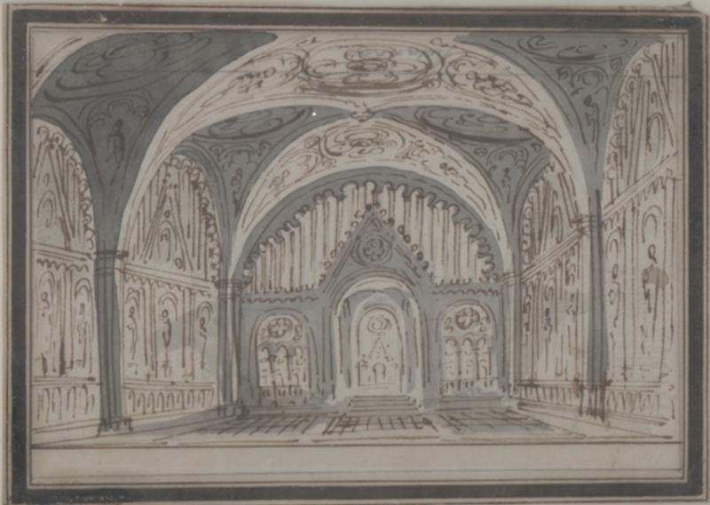 Study for a Stage Set