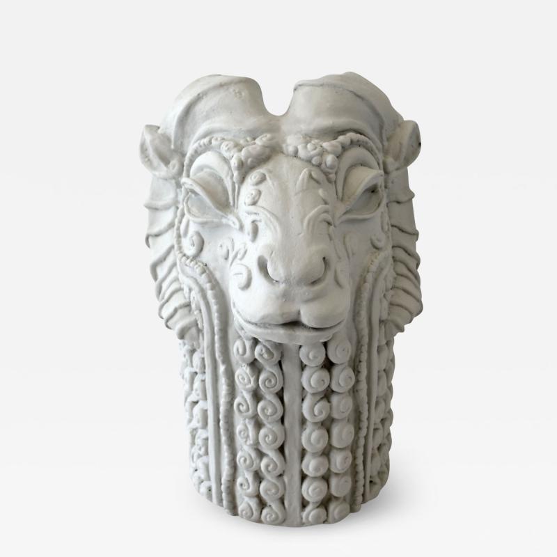 Stylized Rams Head Figural