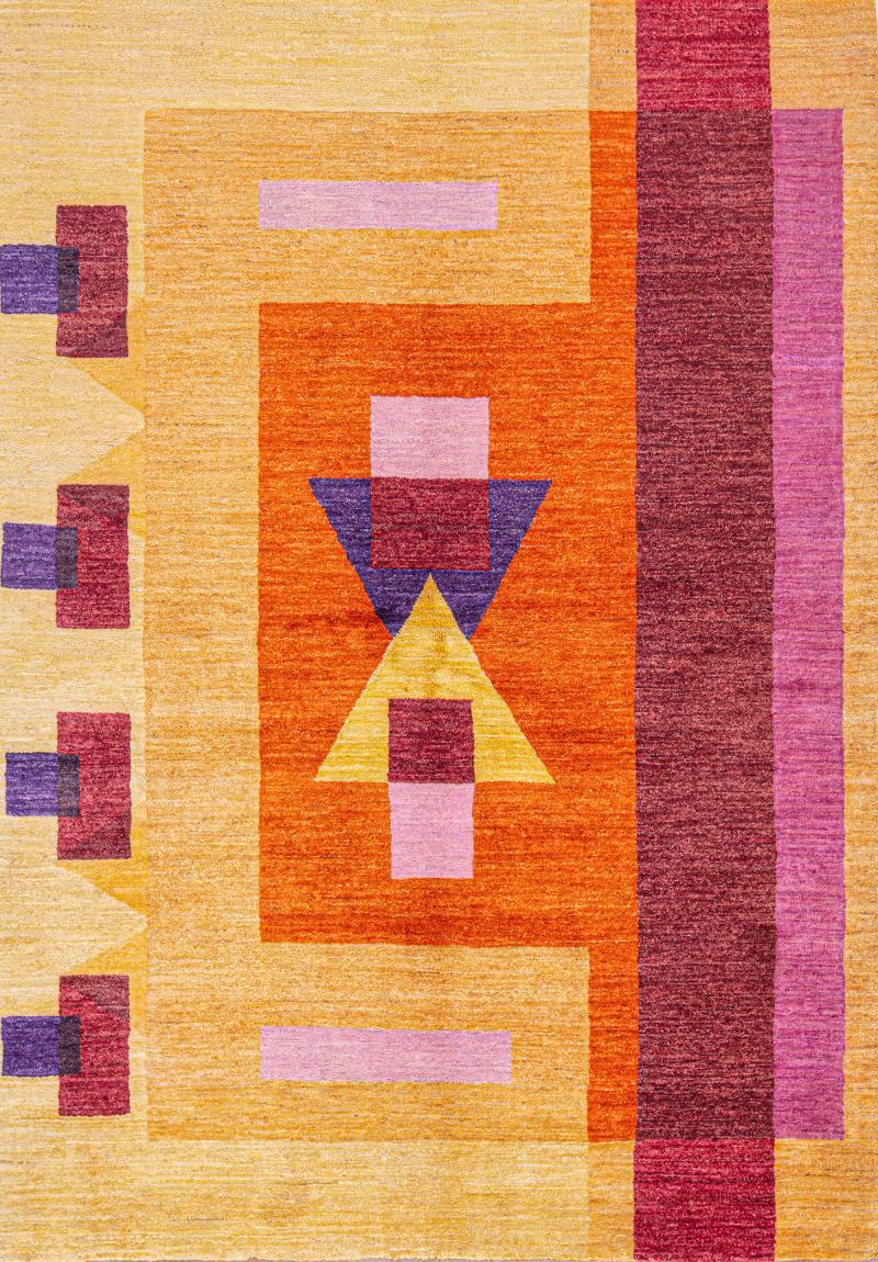 Sunrise Ghashghai meets Bauhaus SoFarSoNear Studio Super Fine Gabbehs