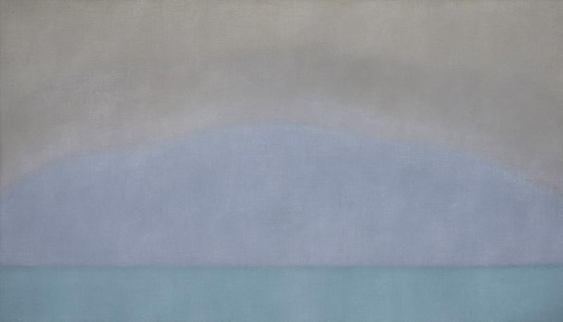 Susan Vecsey Untitled Aqua