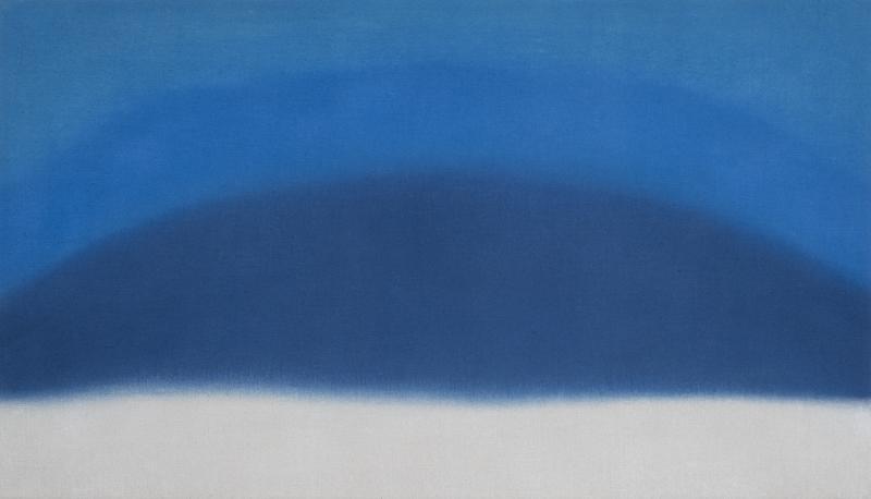 Susan Vecsey Untitled Cobalt Indigo