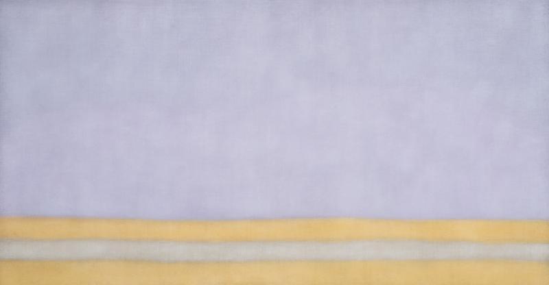 Susan Vecsey Untitled Lavender Orange