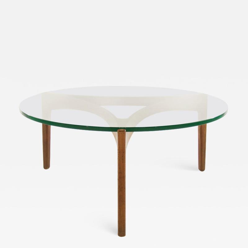 Sven Ellekaer Teak Coffee Table by Sven Ellekaer Denmark 1960s