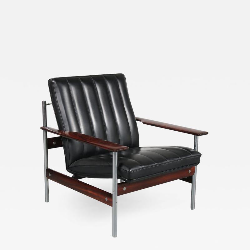 Sven Ivar Dysthe Sven Ivar Dysthe 1001 AF Original Lounge Chair for Dokka M bler Norway 1959
