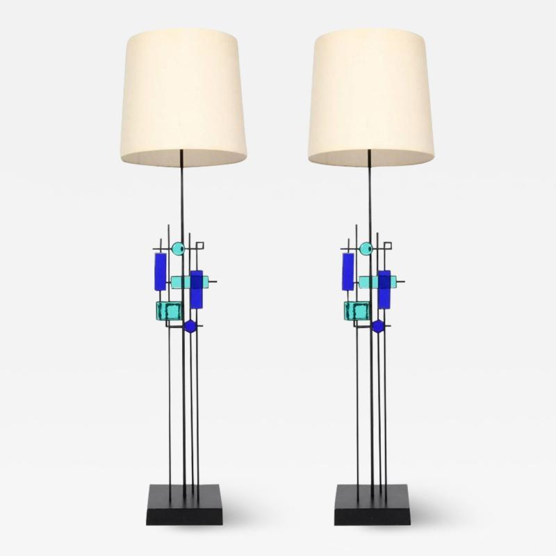 Svend Aage Holm S rensen Pair of Floor Lamps by Svend Aage Holm S rensen