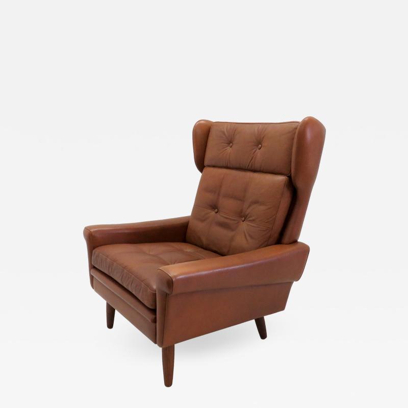 Svend Skipper Wingback Lounge Chair by Svend Skipper