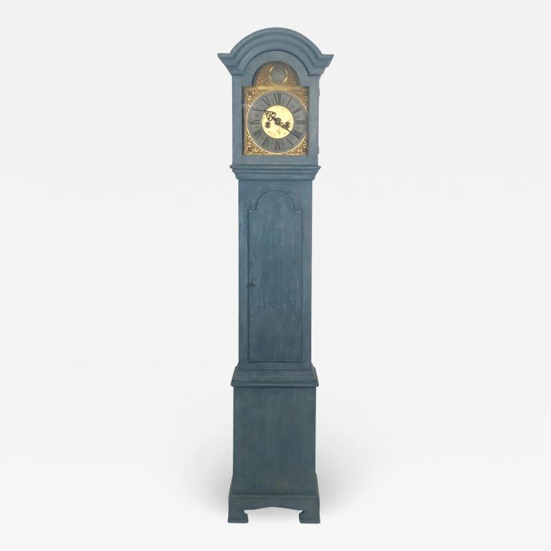 Swedish Grandfather Clock 18th Century