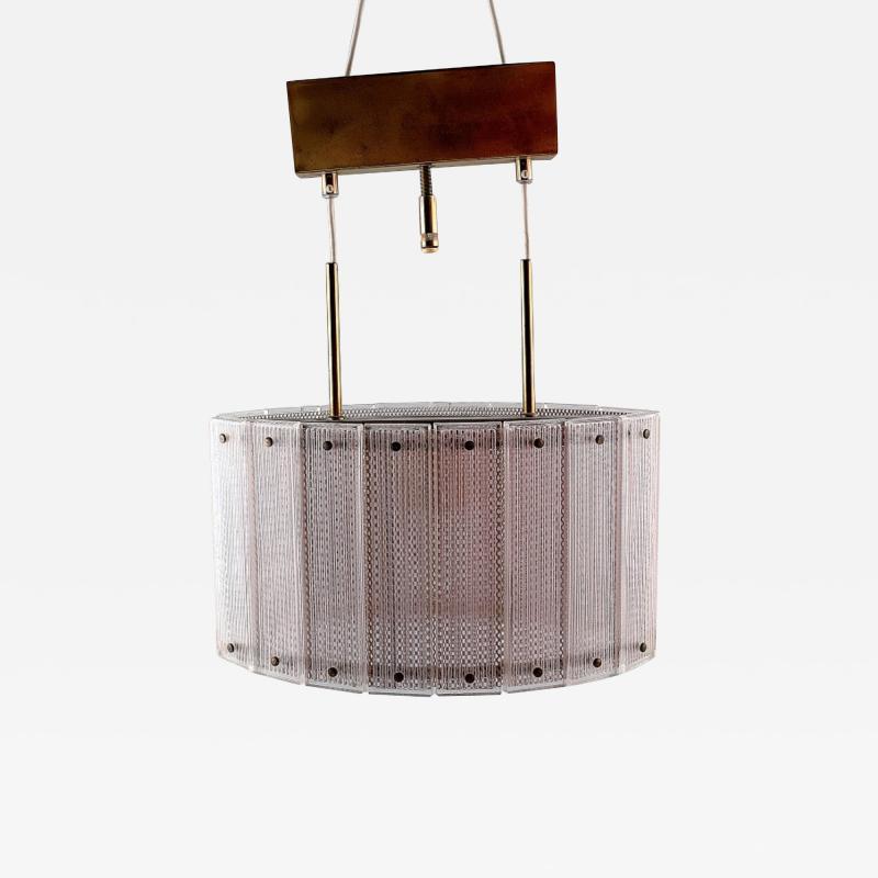 Swedish ceiling lamp art glass