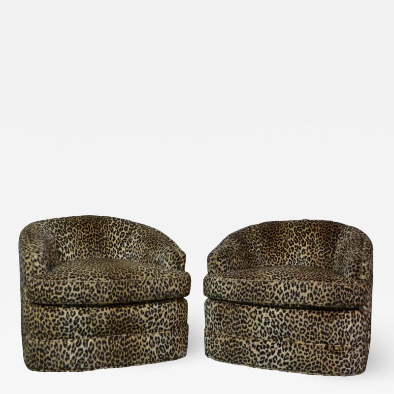 Swivel Tub Chairs by Henredon