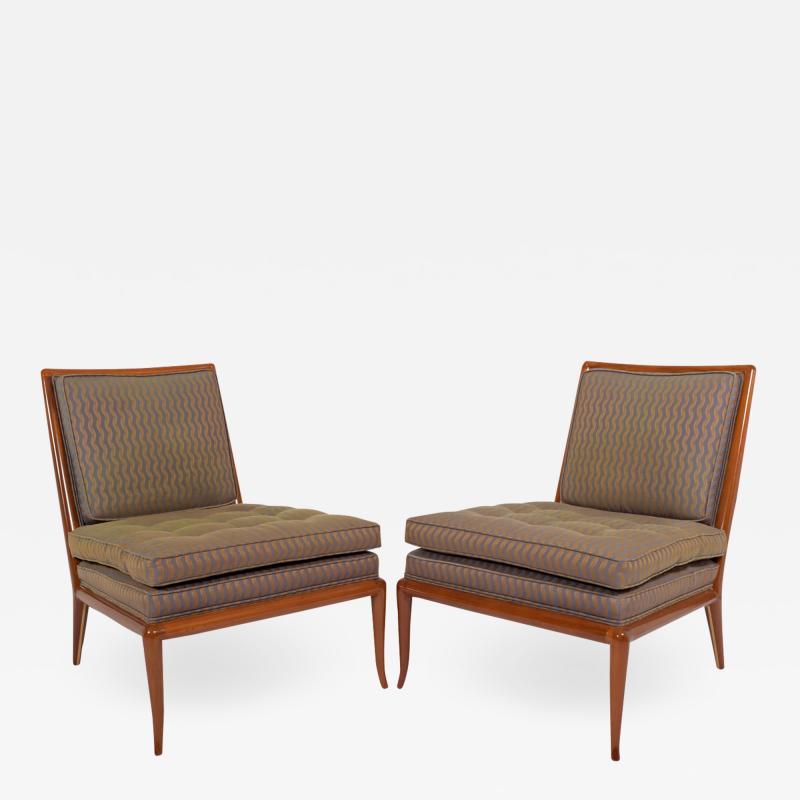 T H Robsjohn Gibbings T H Rabjohn Gibbings slipper chairs for Widdicomb Furniture Co
