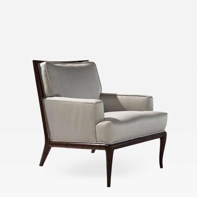 T H Robsjohn Gibbings T H Robsjohn Gibbings Bamboo Club Chair 1950s