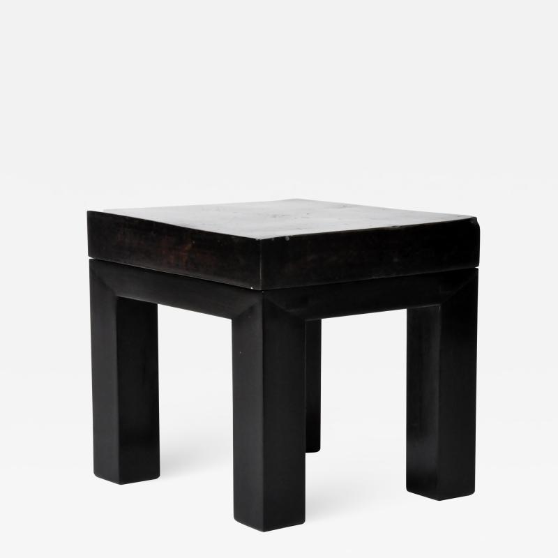 TERRA COTTA TOPPED TABLE