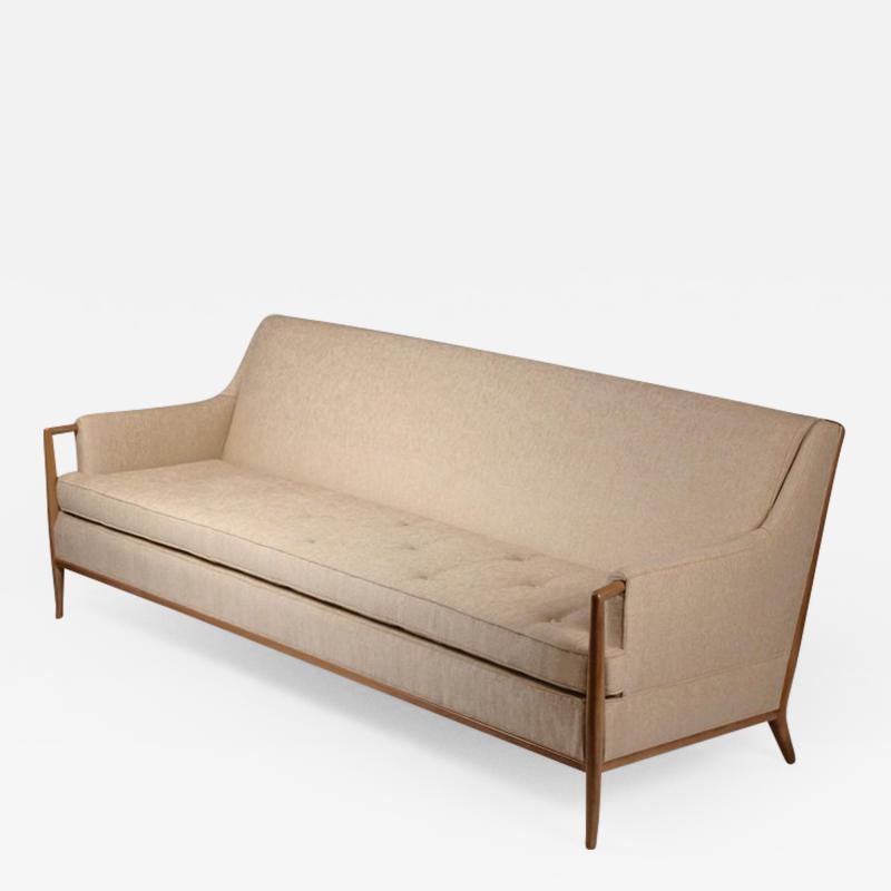 TH Robsjohn Gibbings Exquisite Sofa Designed by T H Robsjohn Gibbings for Widdicomb