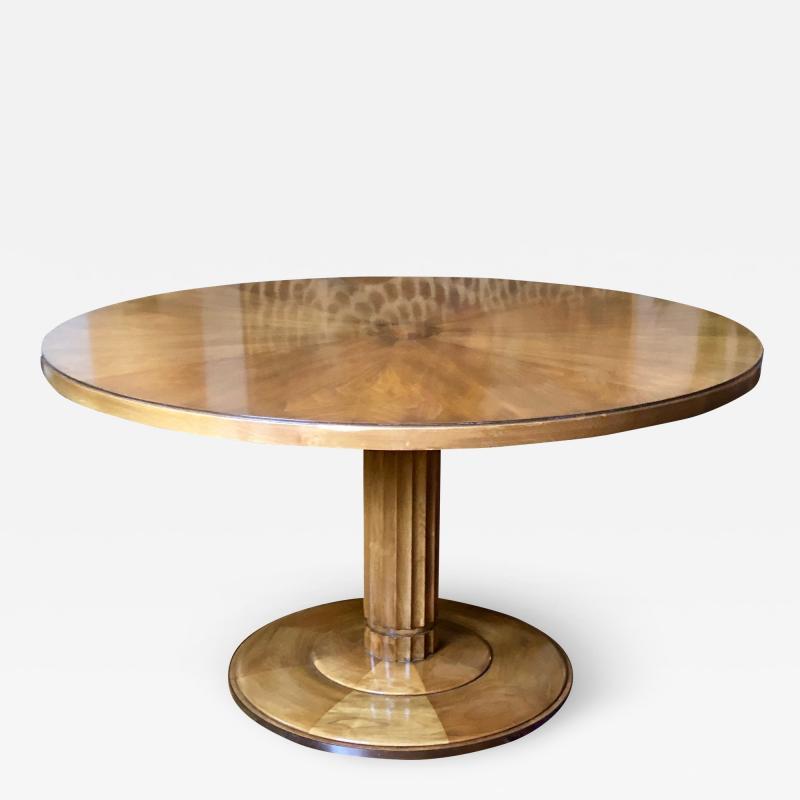 TH Robsjohn Gibbings T H Robsjohn Gibbings Occasional or Center Table for Baker