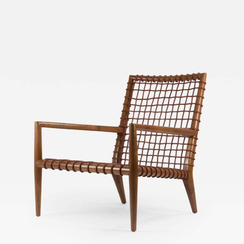 TH Robsjohn Gibbings T H Robsjohn Gibbings for Saridis of Athens Contemporary Lounge Chair No 155