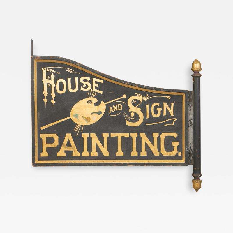 TRADE SIGN HOUSE AND SIGN PAINTING
