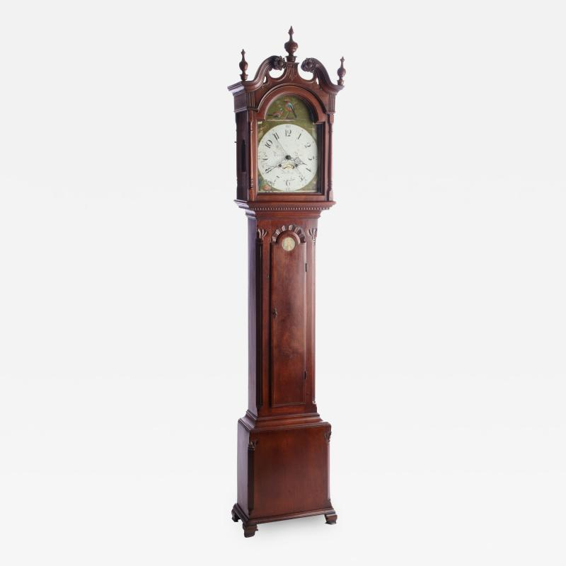 Tall Case Clock by Daniel Rose Reading PA