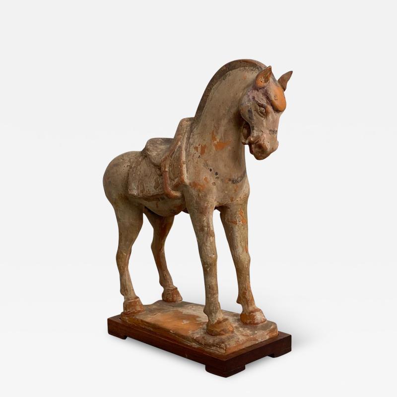 Tang Dynasty Horse China Circa 7th Century