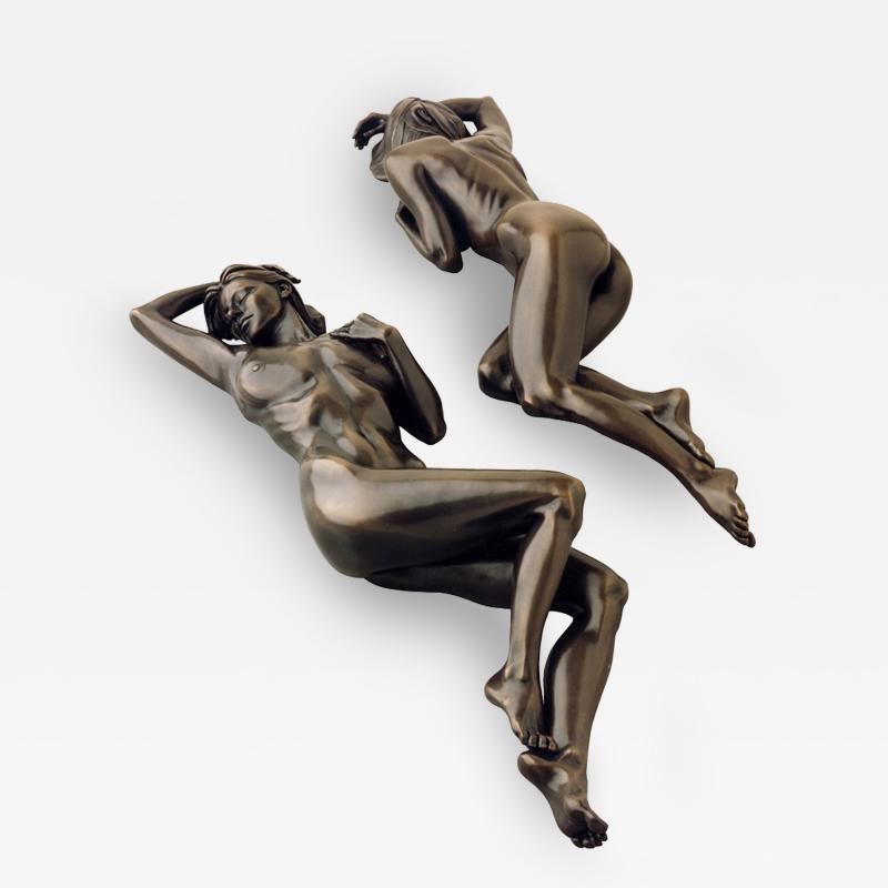 Tanya Ragir Tanya Ragir Bronze Sculpture Reflection Limited Edition of Nine