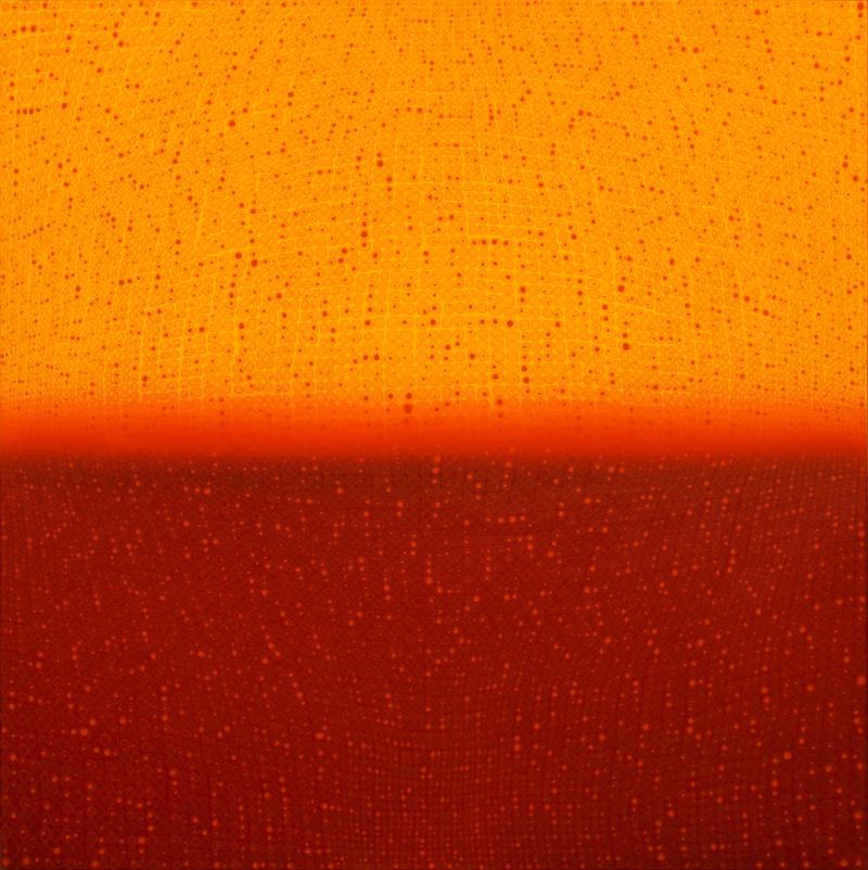 Teo Gonz lez Large Arch Horizon painting 1