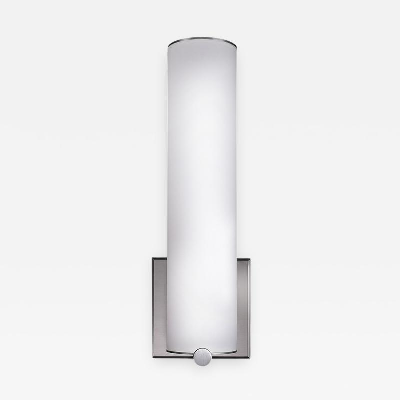 The American Glass Light Company Peg Full Cylinder Short Sconce
