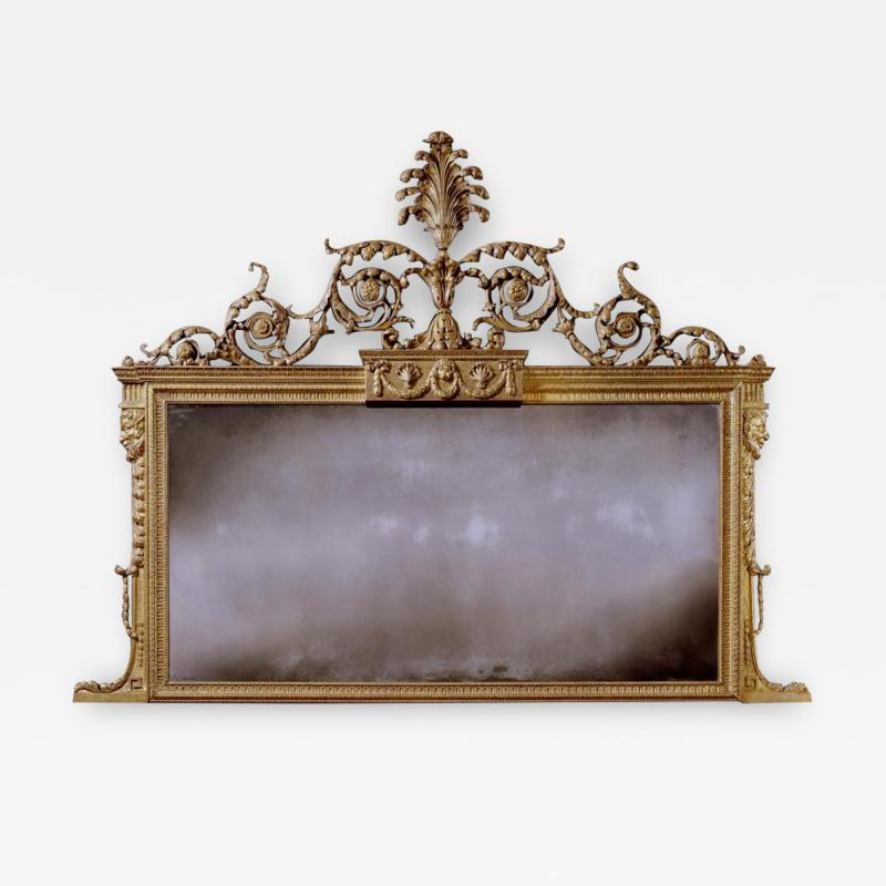 The Brocket Hall Library Thomas Chippendale Mirror