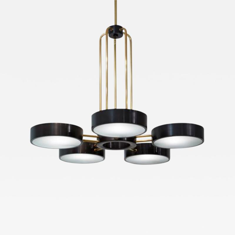 The Five Light Abbott Chandelier