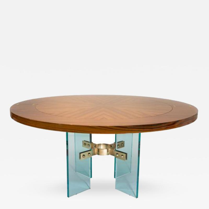 The Jules Center Dining Table Floor Sample