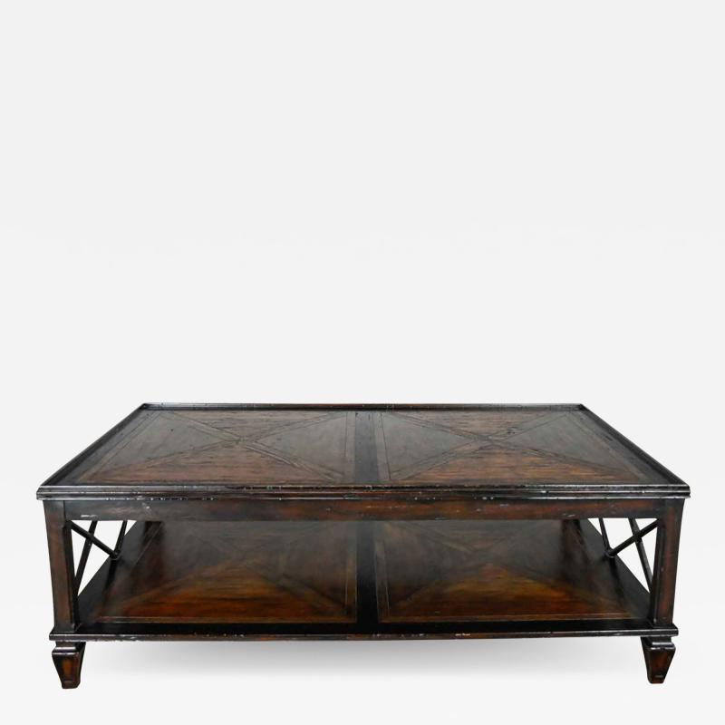 Theodore Alexander Sumner coffee or cocktail table marst hill collection by theodore alexander