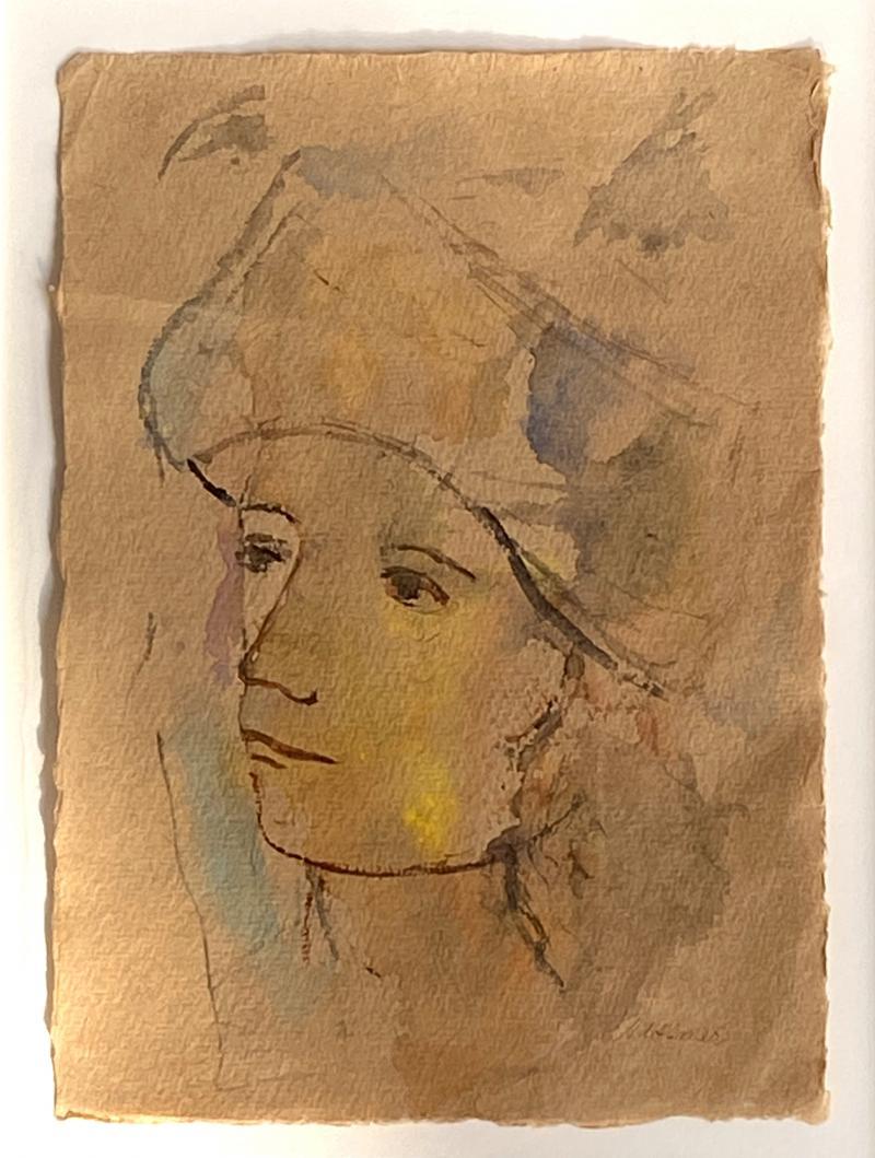 Theodore Milton Wassmer Figure with Hat