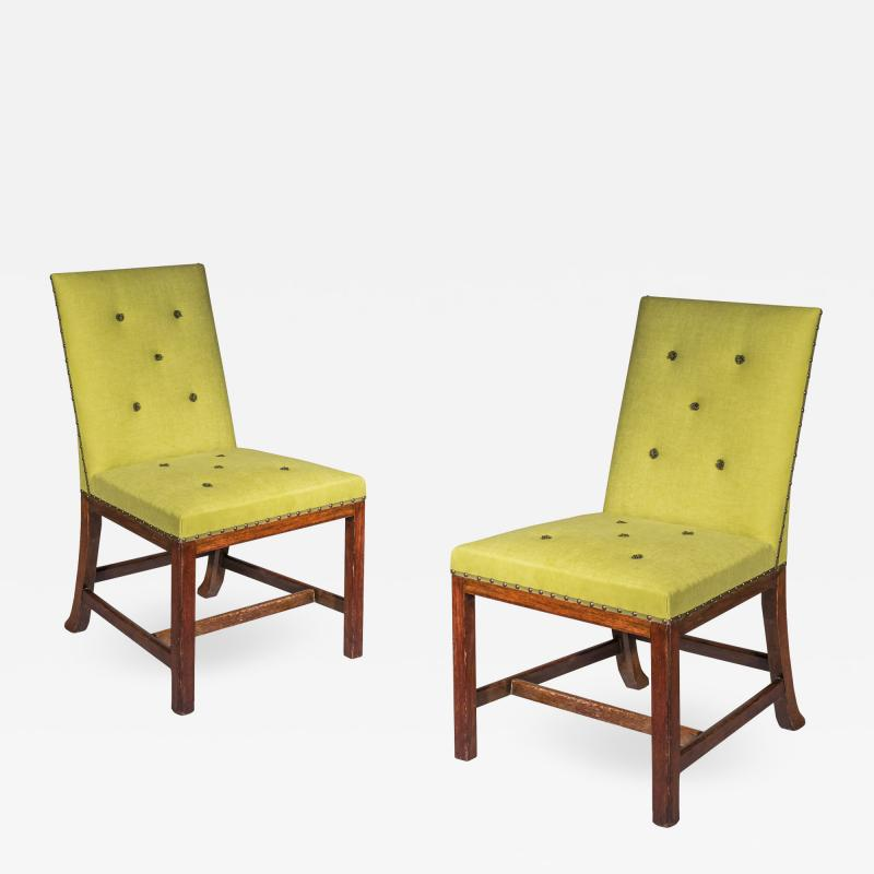 Thomas Chippendale Pair of Chippendale Side Chairs