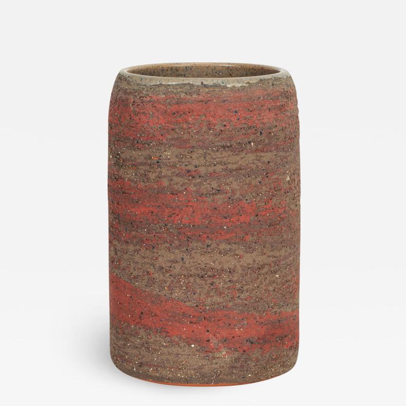 Thomas Hellstr m Thomas Hellstr m clay vase for Nittsj 1960