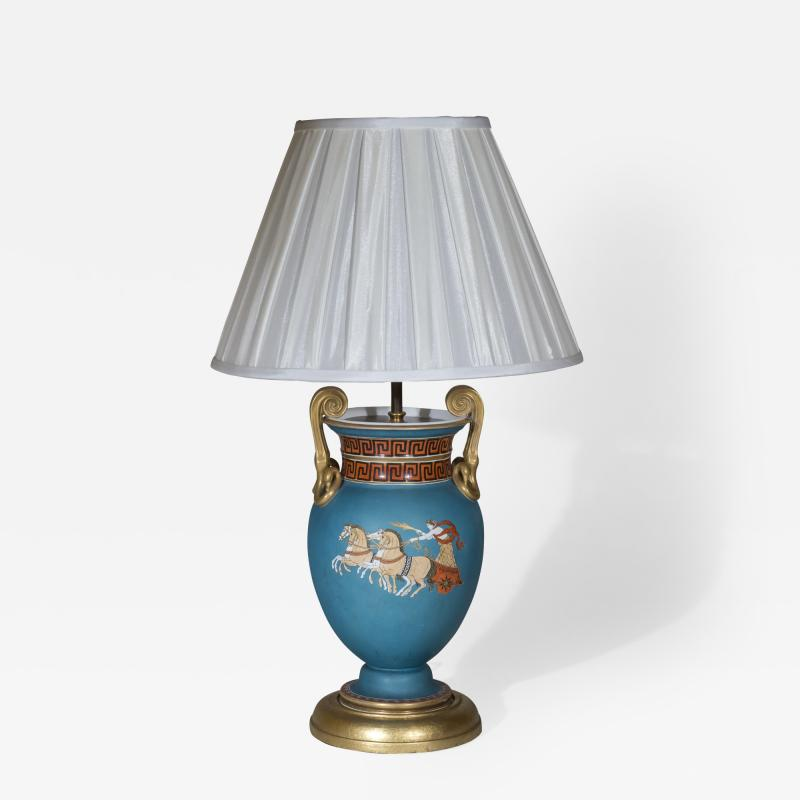 Thomas Hope 19th Century Neoclassical Table Lamp