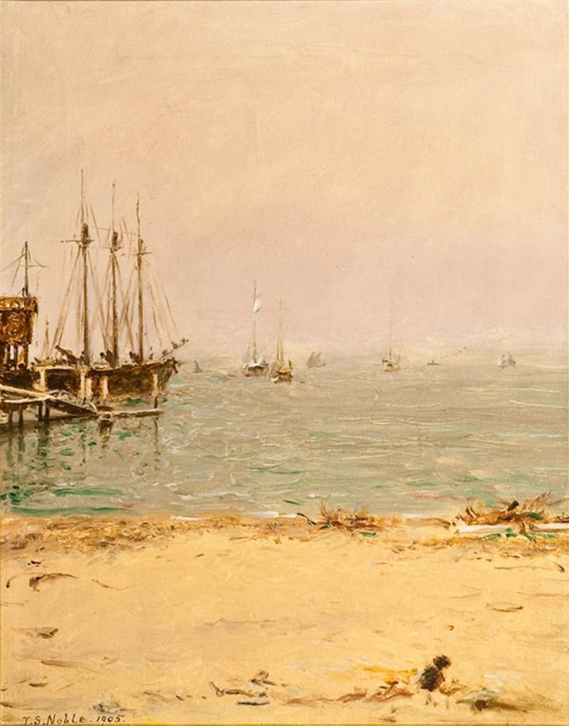 Thomas Satterwhite Noble View of Gravesend Bay