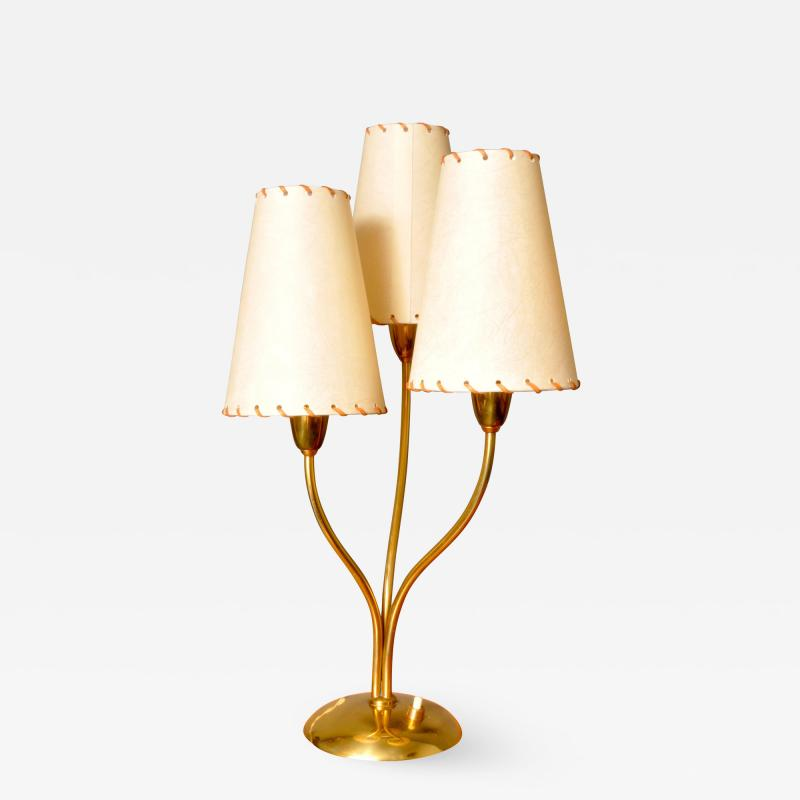 Three Armed Table Lamp Switzerland 1950s