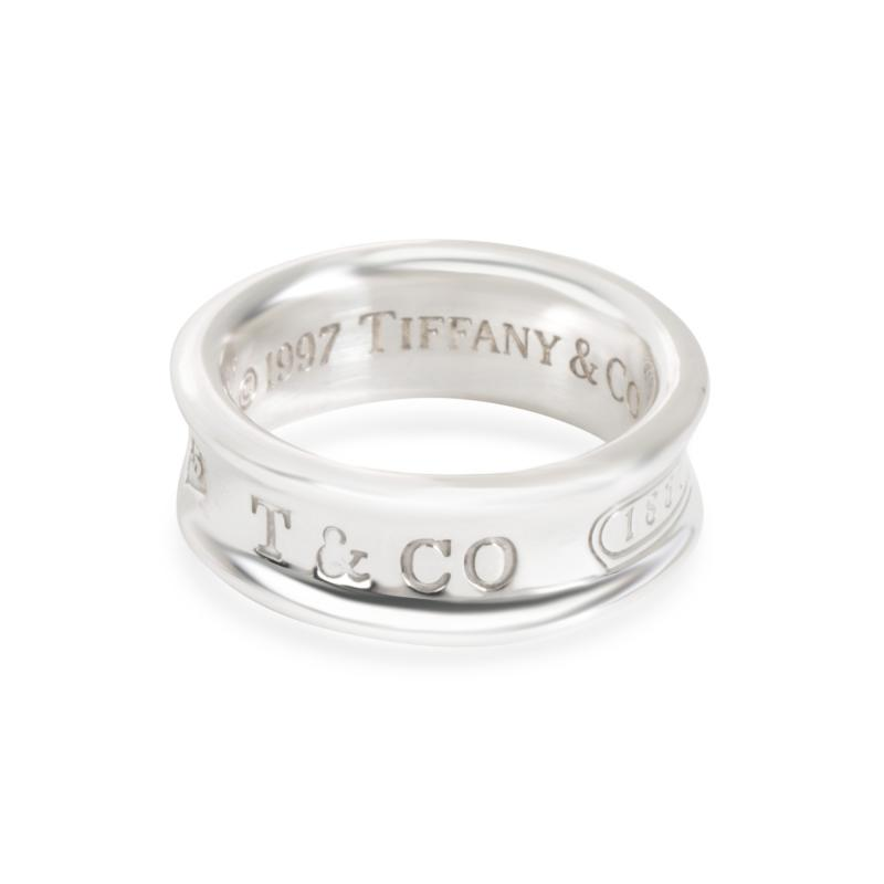 Tiffany Co 1837 Band in Sterling Silver