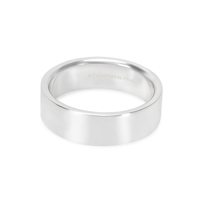 Tiffany Co 6mm Unisex Band in Platinum